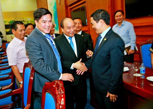 CEO Lê Viết Hải diện kiến Thủ tướng Nguyễn Xuân Phúc