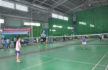 HBC tổ chức giải cầu lông 2012