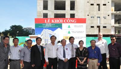 Hòa Bình khởi công 2 dự án ở TP.HCM và Cần Thơ