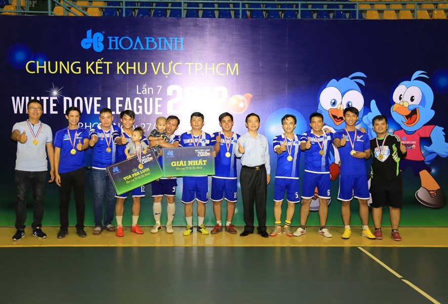 6 đội bóng mạnh tranh Cup White Dove League 2018 toàn quốc - 6