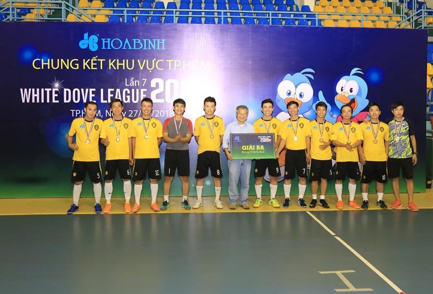6 đội bóng mạnh tranh Cup White Dove League 2018 toàn quốc - 4