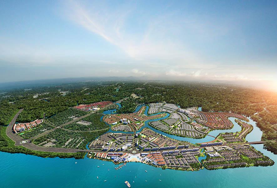 Hòa Bình khởi công dự án Aqua city