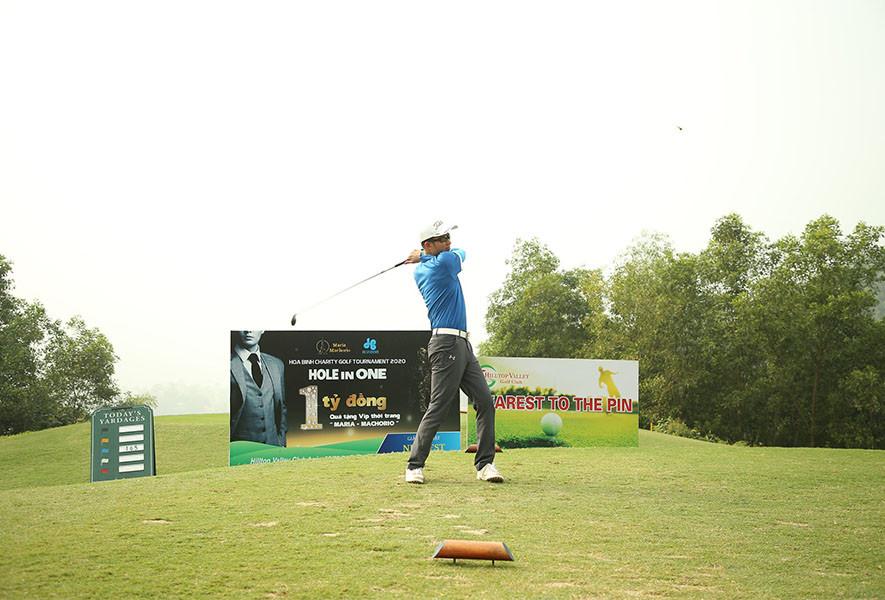 Hoa Binh Charity Golf Tournament 2020 gây quỹ thành công 930 triệu đồng