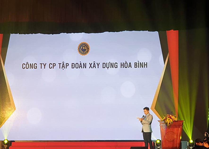 Hòa Bình tài trợ giải CSC Award 2019 của Đại học Xây dựng Hà Nội