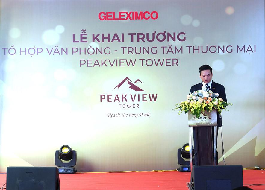 Khai trương tòa nhà Peakview Tower 36 Hoàng Cầu