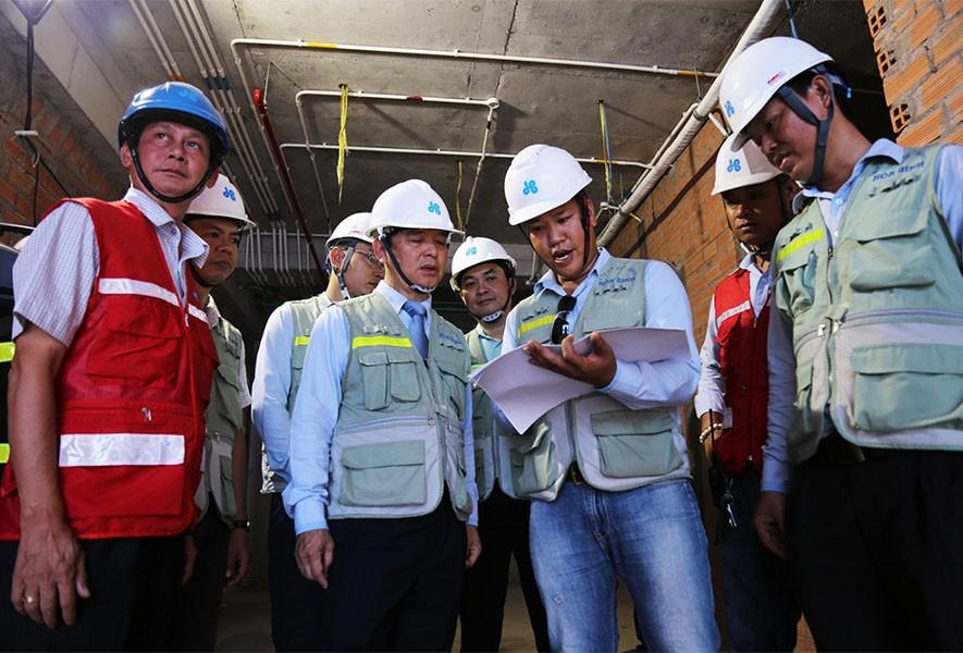 Nhà thầu Hòa Bình đạt 75 triệu giờ công an toàn