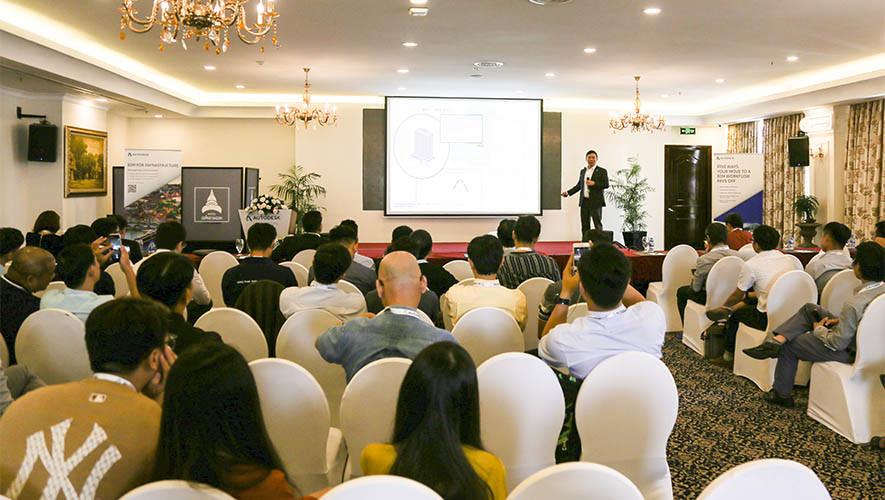 Hòa Bình chia sẻ kinh nghiệm tại hội thảo của Autodesk
