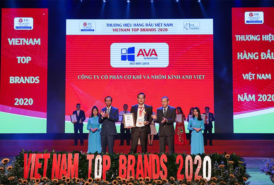 AVA Windows đạt 2 giải thưởng giá trị