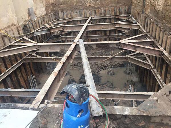 biện pháp chống vách đất hố đào
