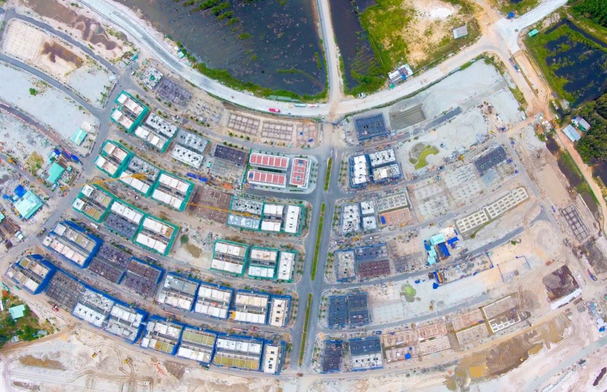 Cất nóc Phân khu Rosada Dự án Meyhomes Capital Phú Quốc