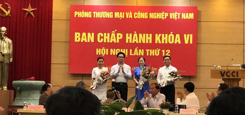 CEO Lê Viết Hải là thành viên ban chấp hành VCCI