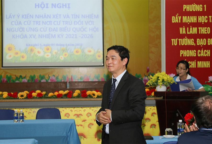 Cử tri tin tưởng doanh nhân Lê Viết Hải làm tốt công việc đại biểu Quốc hội