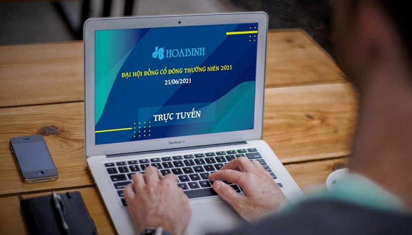 Hướng dẫn tham dự họp trực tuyến Đại hội Cổ đông thường niên 2021