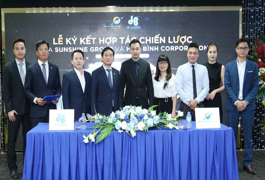 Tập đoàn Xây dựng Hòa Bình và Sunshine Group ký kết hợp tác chiến lược - 2