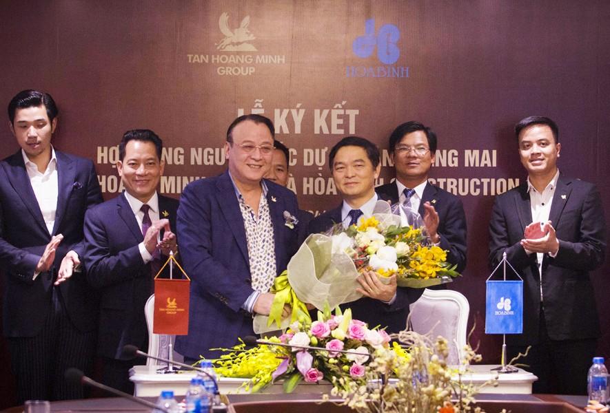 Hòa Bình ký kết hợp tác làm Tổng thầu D&B dự án của Tân Hoàng Minh - 1