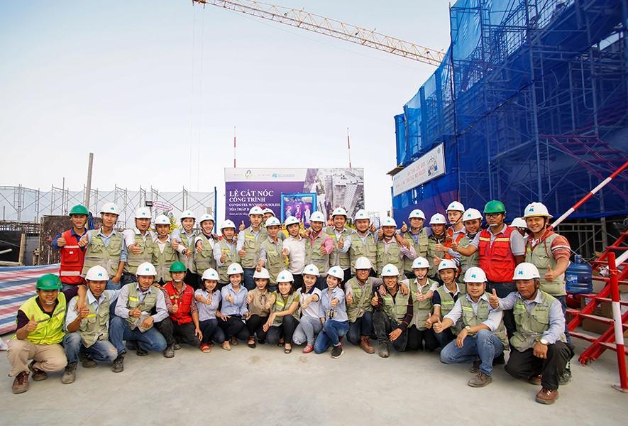 Hòa Bình đạt hơn 3 triệu giờ lao động an toàn tại tòa nhà cao nhất Đà Nẵng - 1