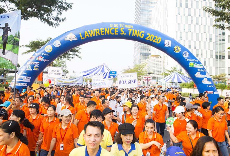 15 năm đồng hành bước chân thiện nguyện Lawrence S.Ting