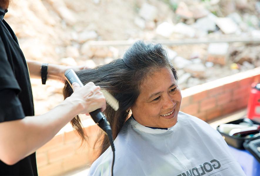 Làm đẹp đón Tết cắt tóc miễn phí cho 1.000 người