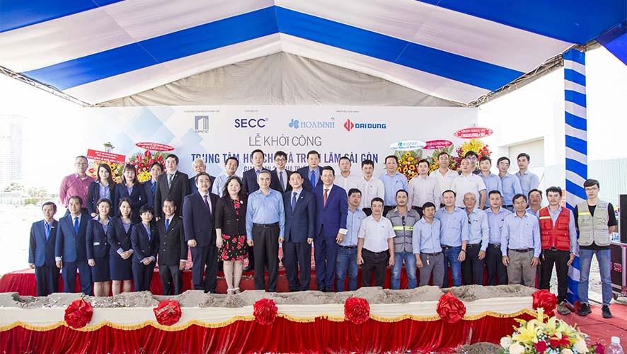 Hòa Bình khởi công xây dựng dự án SECC