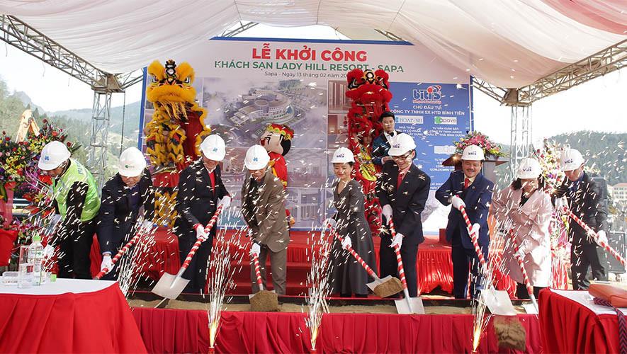 Hòa Bình khởi công dự án Lady Hill Resort Sapa