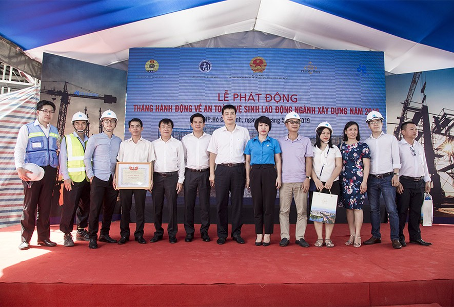 Phát động tháng an toàn vệ sinh lao động ngành xây dựng