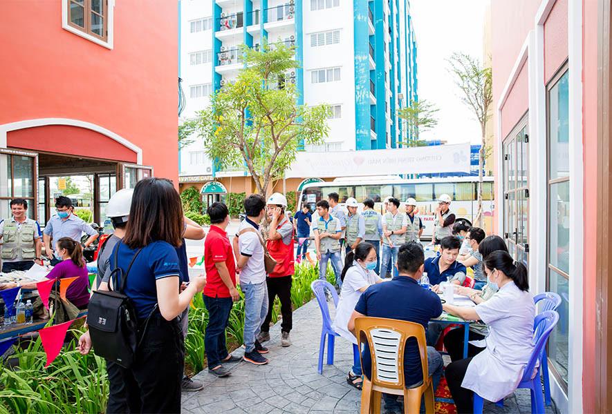 Hòa Bình tổ chưc chương trình Giọt hồng yêu thương 2020 tại Phú Quốc
