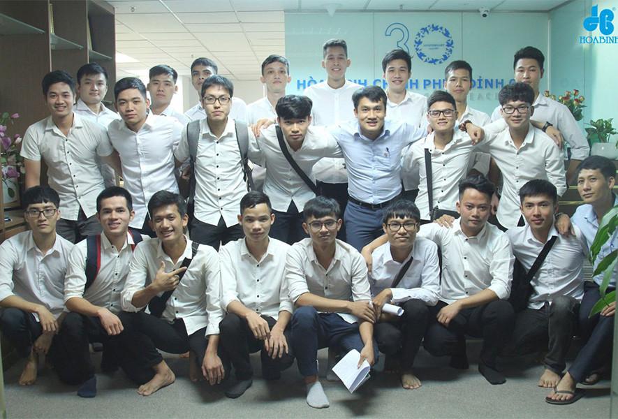 """Tập đoàn Xây dựng Hòa Bình triển khai """"Chương trình thực tập"""" năm 2019 - 2"""