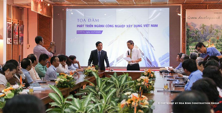 Phát triển ngành công nghiệp xây dựng Việt Nam